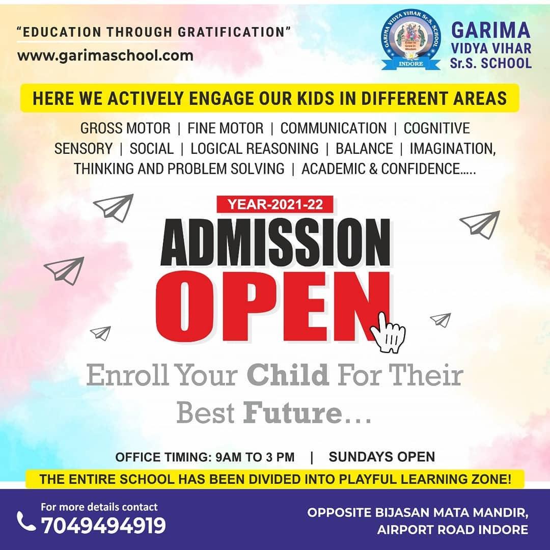 Best CBSE School In Indore Garima Vidya Vihar Sr. Secondary School