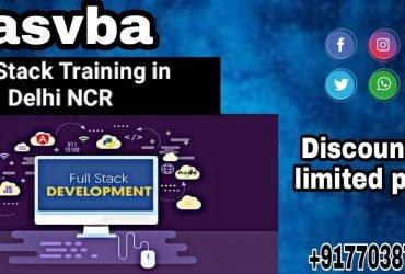 Full Stack Training in Delhi  SASVBA