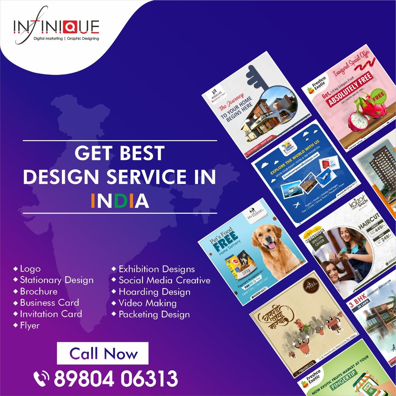 Best Graphic Design Agency in India