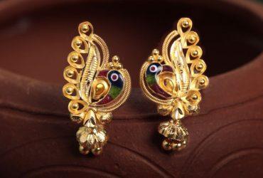 Shop elegant silver stud earrings for women online – Arnia