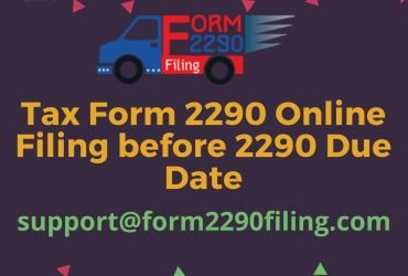 tax form 2290 online | truck tax form 2290 | irs form 2290 schedule
