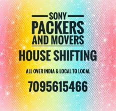 Sony Packers and movers