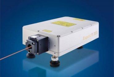 Food packaging film marking date, using high-speed non-stop UV laser marking