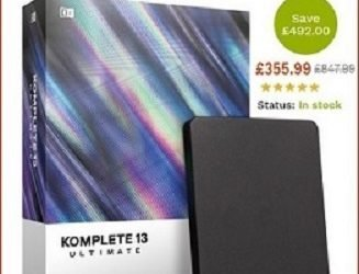 KOMPLETE 13 ULTIMATE  & Other Musical Softwares are Available at Discounted Price