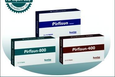 Pirfisun Contains Pirfenidone Products – Sunrise