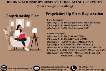 Proprietorship Firm Registration in India