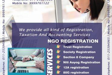 Trust NGO Registration in delhi