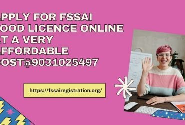 Apply for Fssai Food Licence online at a very affordable price9031025497