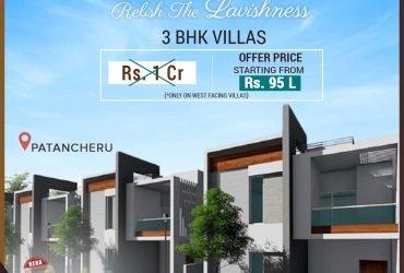 Villas near Patancheru | Good Time Builders