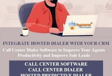 Hosted Predictive Dialer with CRM Software for a Call Center by Kingasterisk Technologies