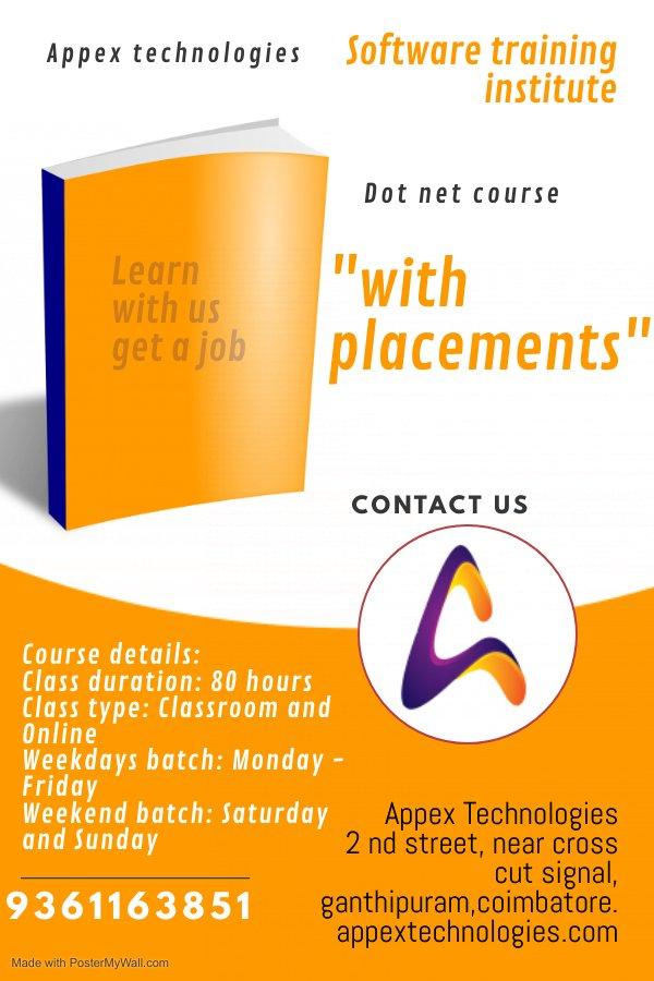 best software training institute in coimbatore appex technologie
