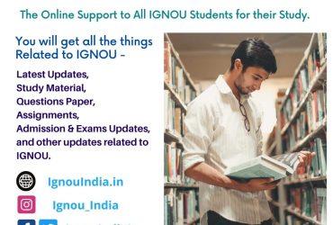 Ignou India – All Ignou Updates