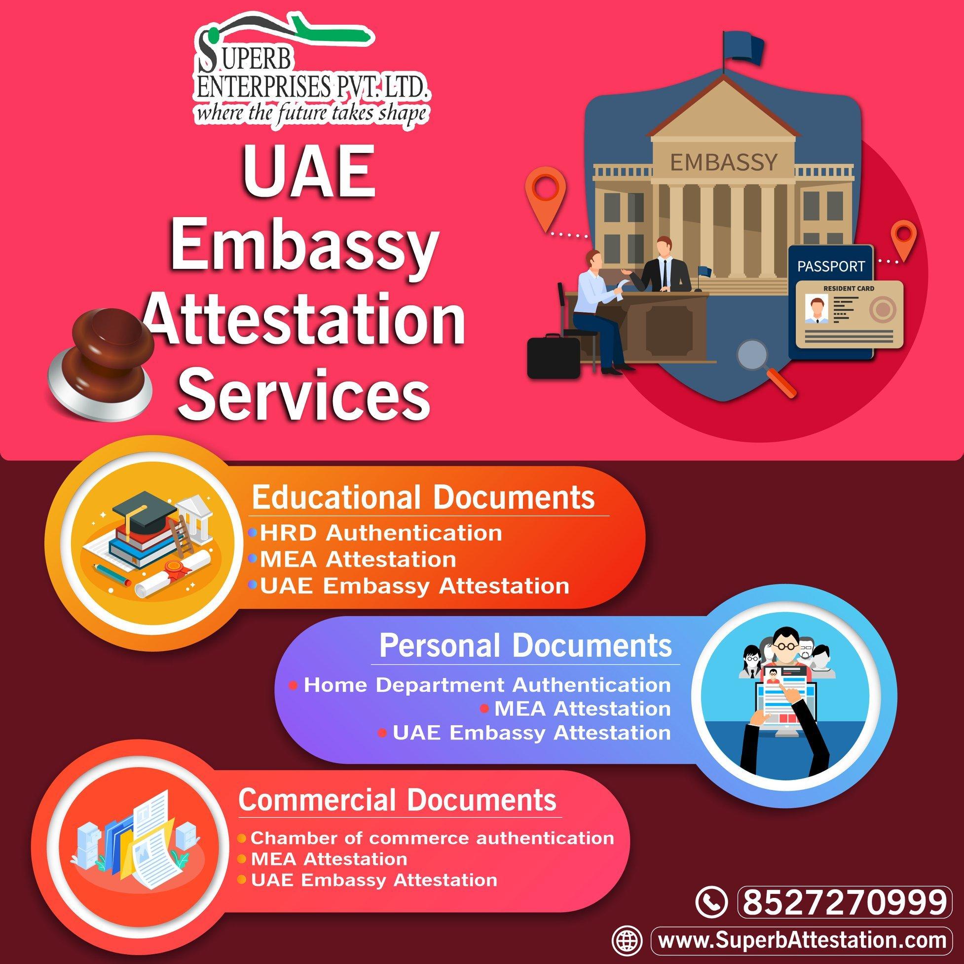 Document Attestation for UAE