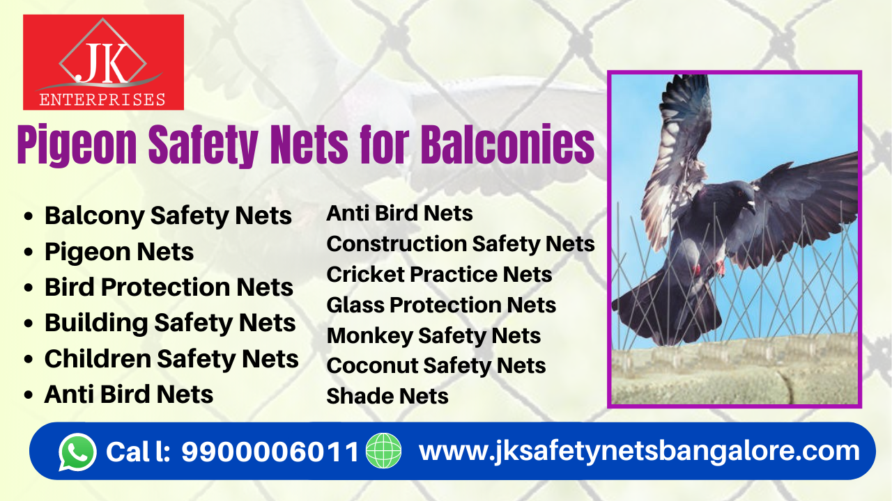 Pigeon Nets for Balconies in Bangalore