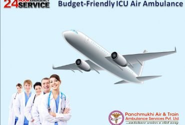 Completely Smart ICU Air Ambulance Service Avail in Patna