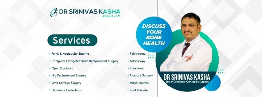 Best Orthopedic Doctor in Hyderabad  Dr Srinivas Kasha
